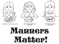 Good manners, Ocean city and Placemat on Pinterest