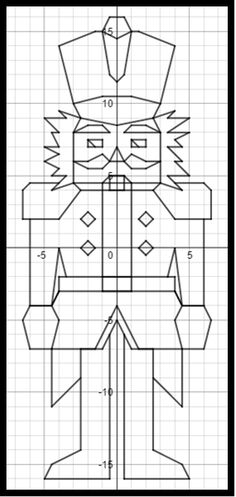 1000+ images about Christmas Coordinate Graphing