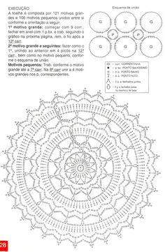 1000+ ideas about Crochet Doily Diagram on Pinterest