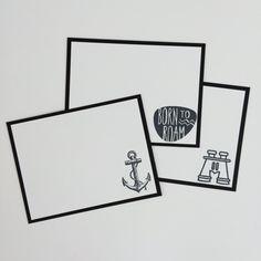 Set of 50 Graduation Guest Book Alternative Note Cards
