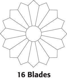 1000+ ideas about Dresden Plate Patterns on Pinterest