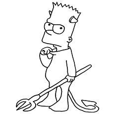 dibujos de los personajes de los simpson para dibujar
