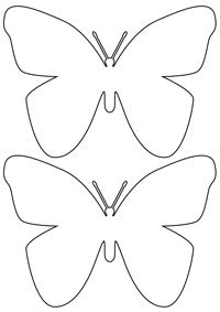 1000+ ideas about Butterfly Template on Pinterest