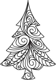 1000+ images about Christmas Zentangle Ideas on Pinterest