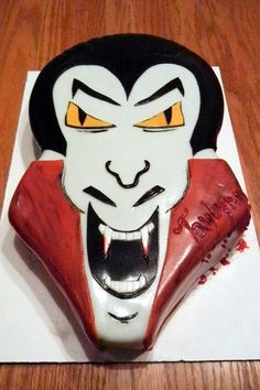 Dracula cake! Made by Le sucre au four My cakes