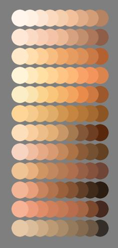 Skin Palette for MyPaint V2 by MeryAlisonThompson on