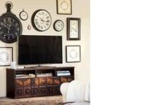 decorating around a flat screen tv   Living Room Ideas ...