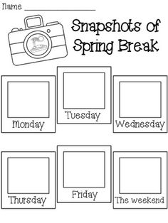 1000+ images about Spring Break activities on Pinterest