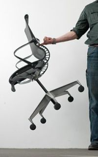 Herman Miller Setu Chairs kinematic spine conforms to the ...