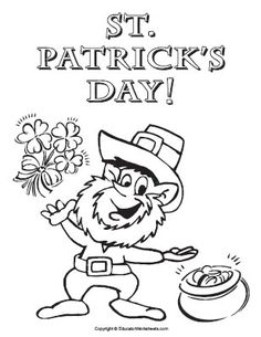 St. Patrick's Day Word Scramble. Use the clue and the word