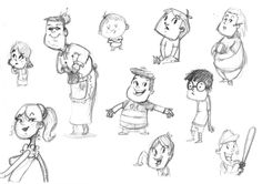 sketch of the Montreal-based Crazy Apes crew as cartoon