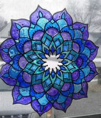 1000+ images about stained glass on Pinterest | Mandalas ...