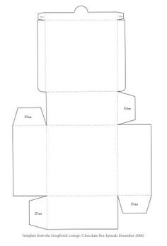 suitcase template (for a suitcase out of craft paper