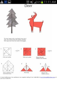 sailing ship sail diagram solar controller wiring panel charge anonymerfo origami deer instructions | craft ideas pinterest deer, paper and diys