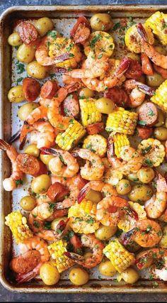 Sheet Pan Shrimp Boi