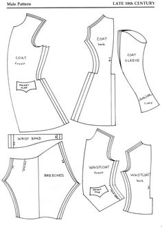 1000+ images about ~DIY:18th Century Sewing~ on Pinterest