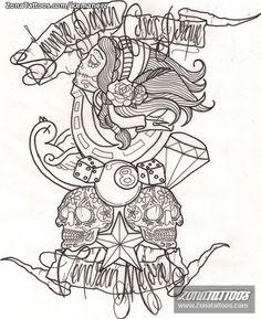1000+ images about Tatuajes plantillas on Pinterest