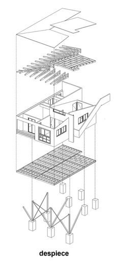 INSULATION Cross-section diagram of roof structure