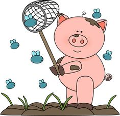Desenhos Para Colorir De Porcos Porquinhos Fofos Para