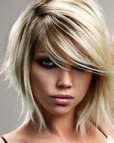 Halblanghaar Frisuren – Modische Frisuren Für Sie Foto Blog