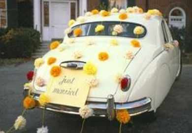 Wedding Limo Decoration Ideas