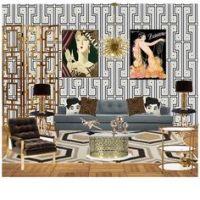 1920's -- Living room. | H I S T O R I C ~ I N T E R I O R ...