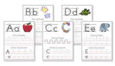 Free Printable Writing Practice Paper: ONE INCH lines