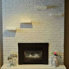 Kitchen Backsplash Trim Ideas Cabinets Amish 1000+ Images About Refurbish Fireplace On Pinterest ...