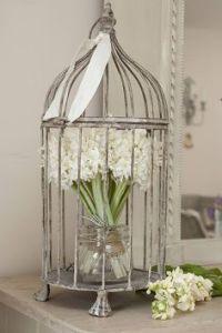 Bird. Cage decoration | My creative crafty ideas ...
