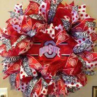 1000+ ideas about Ohio State Wreath on Pinterest | Wreaths ...