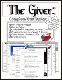 The giver, Year old and Activities on Pinterest
