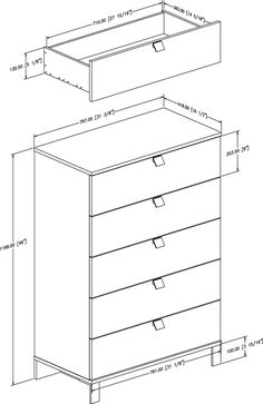 Dresser plans, Dressers and 5 drawer dresser on Pinterest