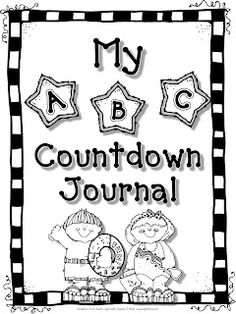 ABC countdown for last 26 days of school. Or... Could use