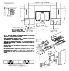 Concealed Door Slide Hardware for Hiding the TV in the