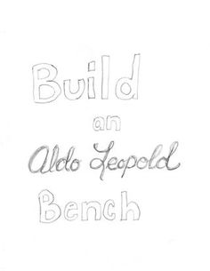 1000+ images about Aldo Leopold benches on Pinterest