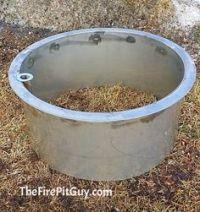 Steel Fire Pit Liner Metal Insert www.HigleyFirePits.com ...