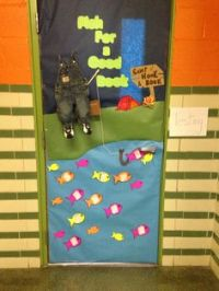 March is Reading Month- Classroom door decorating | Spring ...