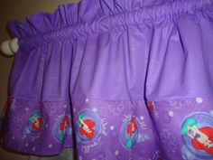 Curtains Ariel Mermaid Little Mermaid Curtains Set Ariel Girls