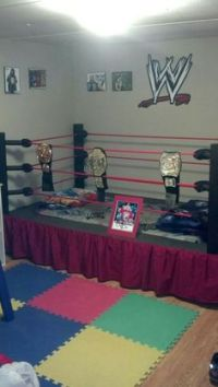 Wrestling Ring Bed | Cool Rooms | Pinterest | Room and ...