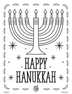 Extra counting practice with this Hanukkah-themed math