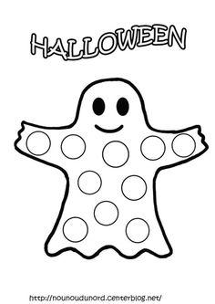 Printable Happy Halloween border. Use the border in