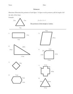 Area & Perimeter Worksheets and so much more. Common core