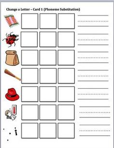 1000+ images about Phoneme Manipulation on Pinterest