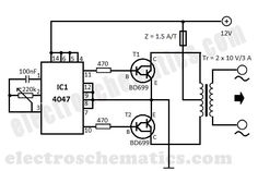 PCB Variable Regulator 0-30V 5A by LM723,CA3140,2N3055
