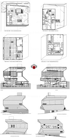 Prada Store New York Floor Plan #architecture #Koolhaas #