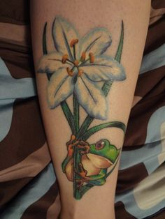 Cool Tree Frog Tattoo Check Out The Detail In The Eyes