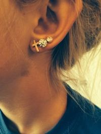 1000+ ideas about Triple Lobe Piercing on Pinterest | Lobe ...