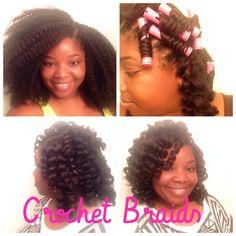 Crochet braids on Pinterest