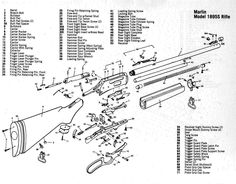 Smith & Wesson .357 Military & Police Revolver Schematic