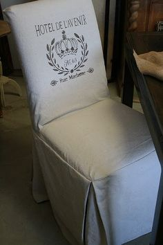 diy parsons chair covers espresso rocking nursery 1000+ images about shabby~chair on pinterest | covers, slipcovers and chairs